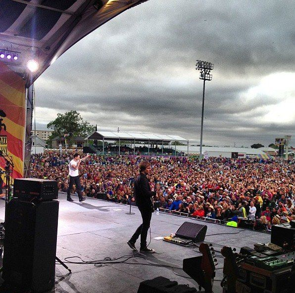 Maroon 5 at Jazz Fest!