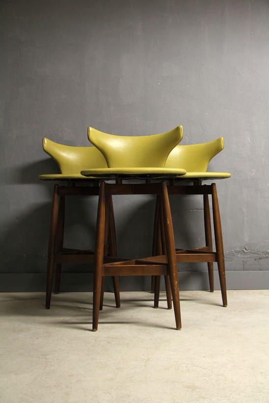 Atelier Pi swivel bar stool seymour wiener kodawood atelier pi berlin