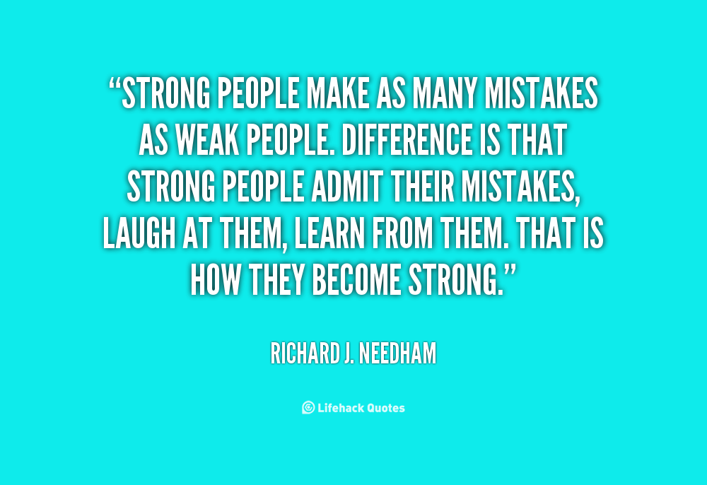Making Mistakes Quotes About Friends. QuotesGram | Words of Wisdom