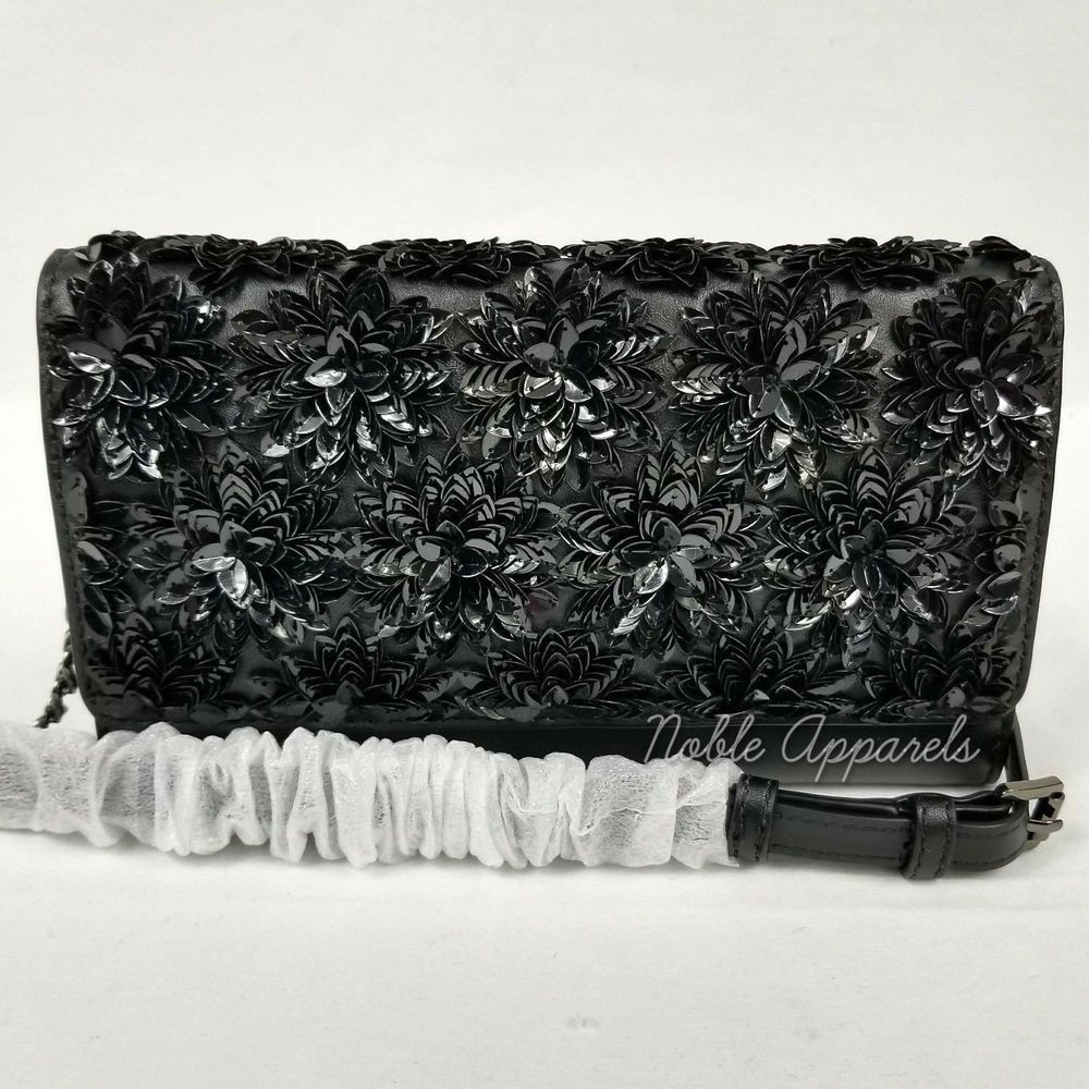 b9ccc30f245a NWT Michael Kors Sloan Sequined Quilted SM Chain Shoulder Bag Leather Black  in 2019 | Amazon & eBay Store Items | Quilted shoulder bags, Chain shoulder  bag, ...