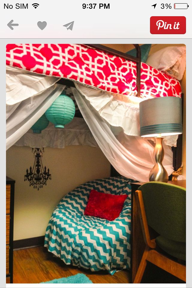 Cuuuuuute For Dorms With Bunk Bed Desk Combos Dorm Room Designs