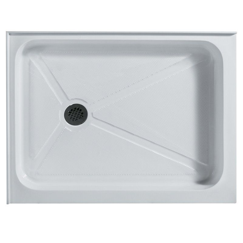Vigo Vg06019wht3248 48 125w X 32 375d In Rectangular Shower Pan