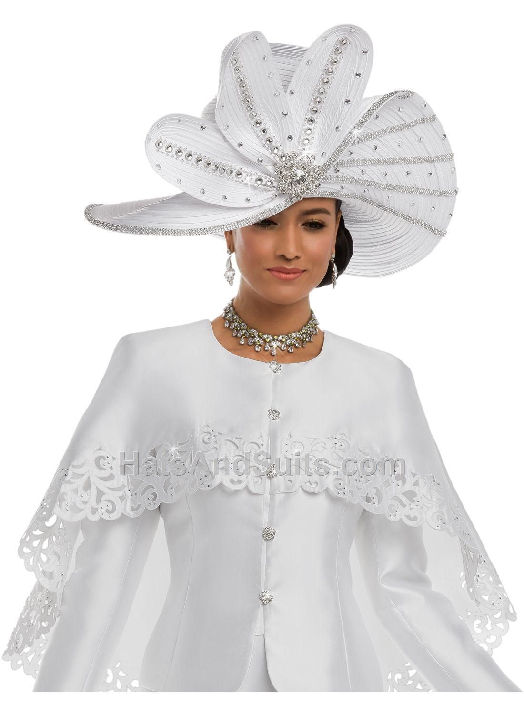 Donna Vinci Couture Church HATS H5589 Spring   Summer 2018  8cb12b63ce7