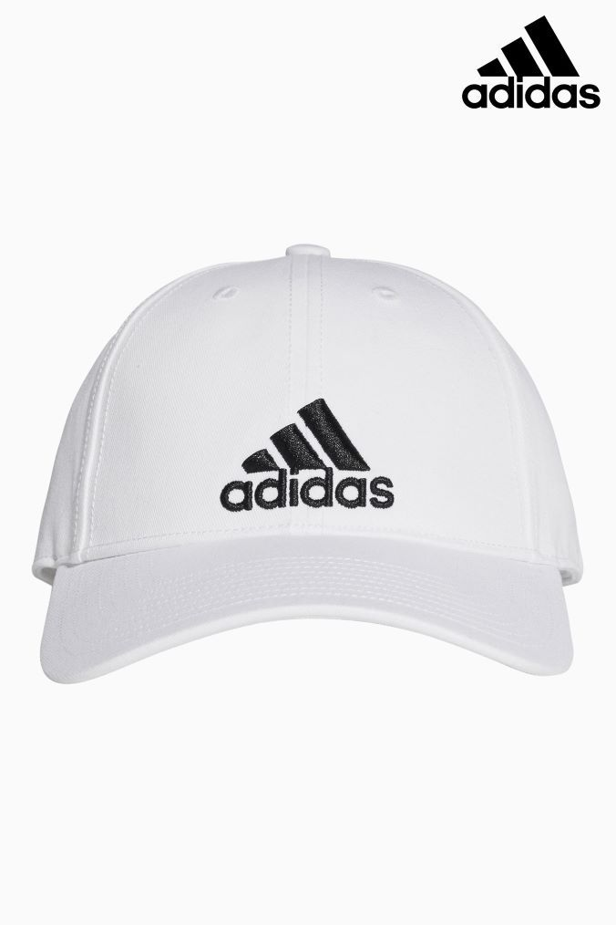5aa843be06 Mens adidas Adult Cap - White in 2019 | Men's style | Adidas cap ...