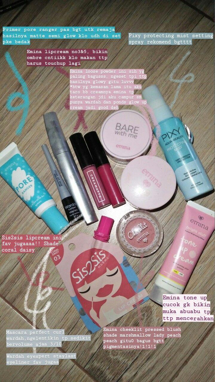 Make Up Remaja Produk Makeup Pewarna Bibir Tutorial Kecantikan