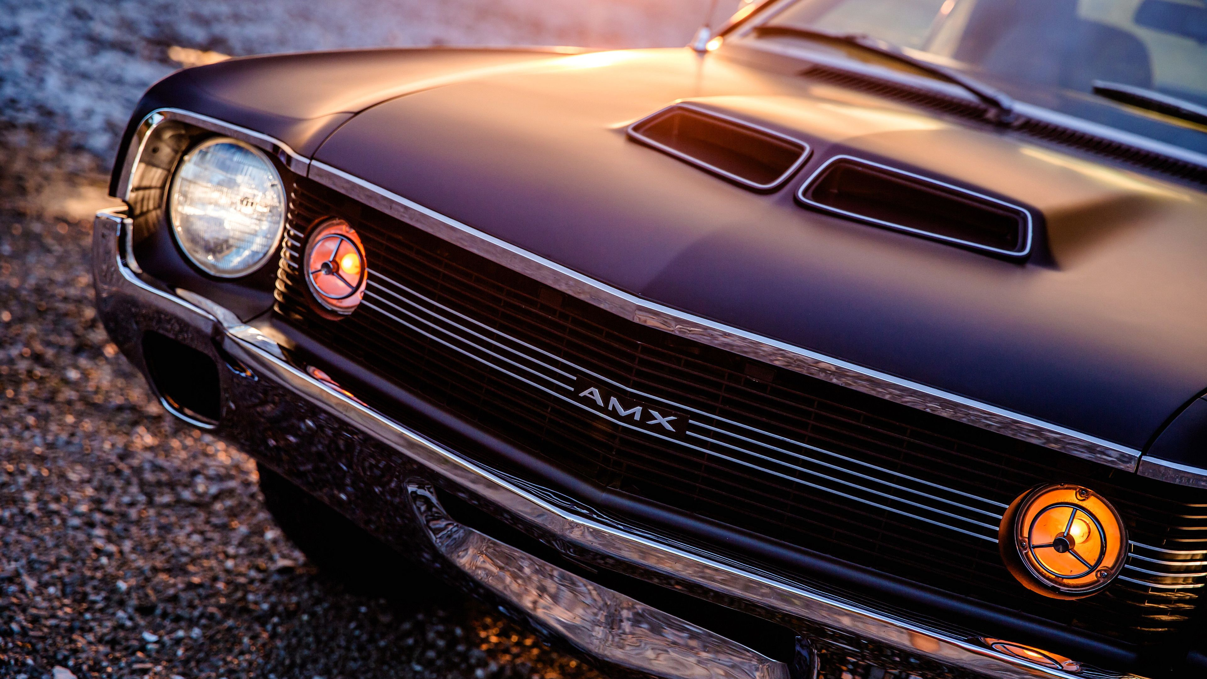1970 Amc Amx 4k Vintage Wallpapers Hd Wallpapers Cars Wallpapers 4k Wallpapers Car Headlights Car Wallpapers Car