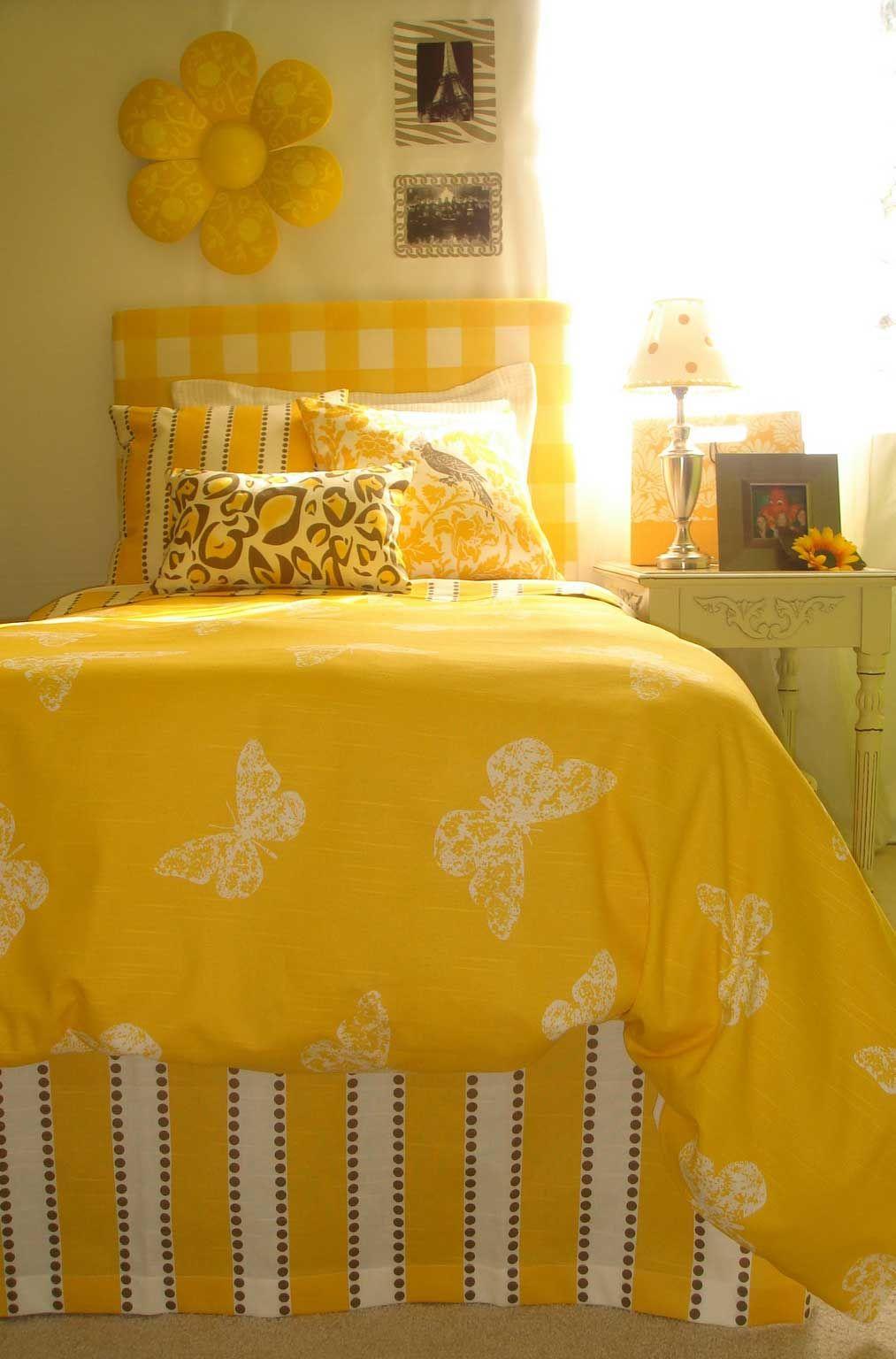 30 schöne gelbe Schlafzimmer Design Ideen in 2020 Gelbes