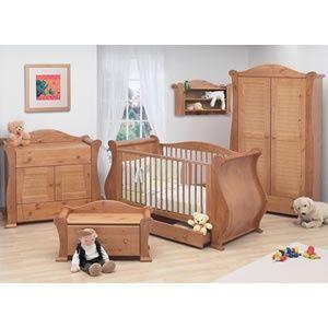 Alle Kinder Marie Cot Bett, Kleiderschrank und