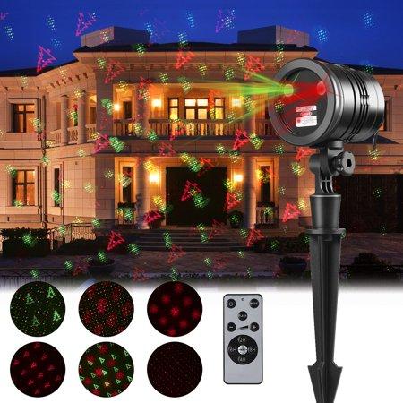 Waterproof Christmas Projection Lights Outdoor Laser Light Projector