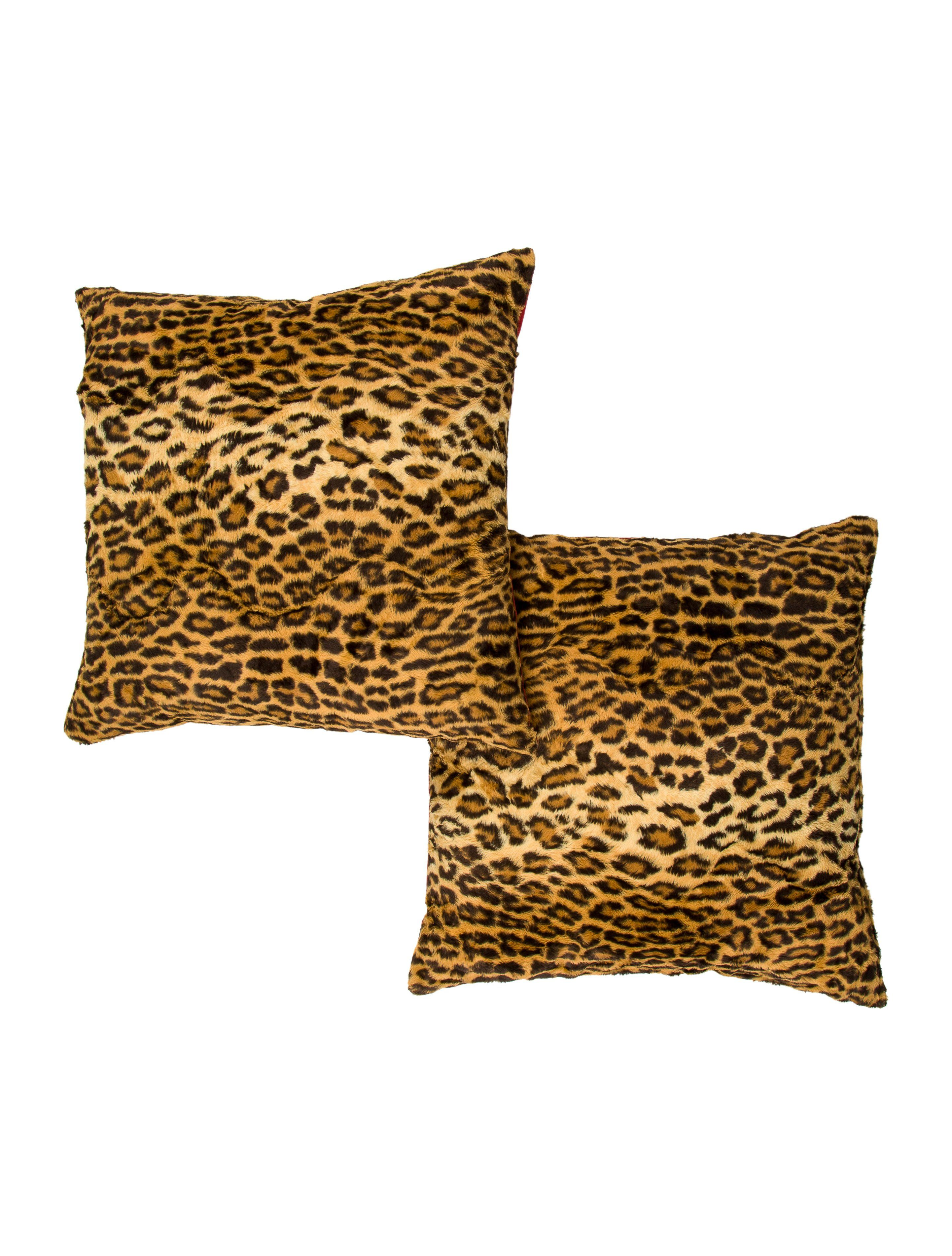 Ralph Lauren Aragon Leopard Throw Pillows Bedding And Bath Wyg22123 The Realreal Throw Pillows Pillows Throw Pillows Bed