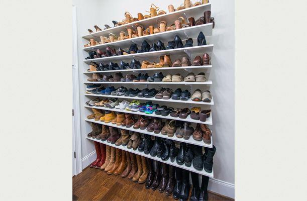 Superieur Shoe Storage System