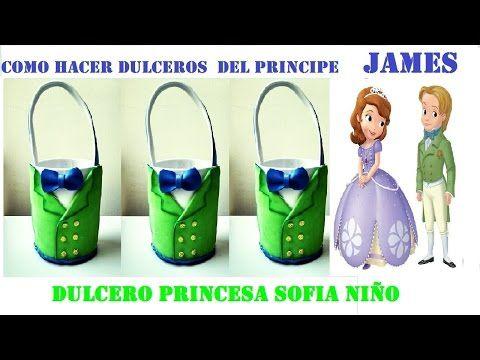 4c37b829c COMO HACER DULCERO PRINCESA SOFIA NÑO /PRINCIPE JAMES - YouTube ...