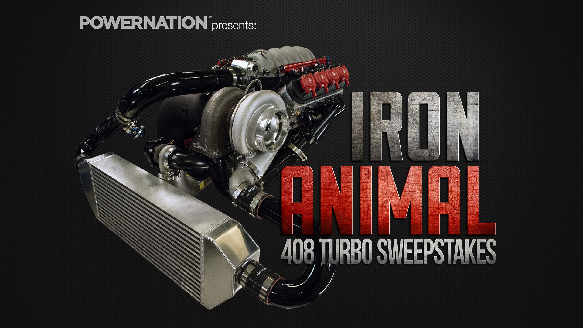 I just entered The Iron Animal 408 Turbo Giveaway! Click the link if