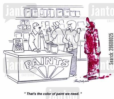 That S The Color Paint We Need Paint Shops Painter Humor