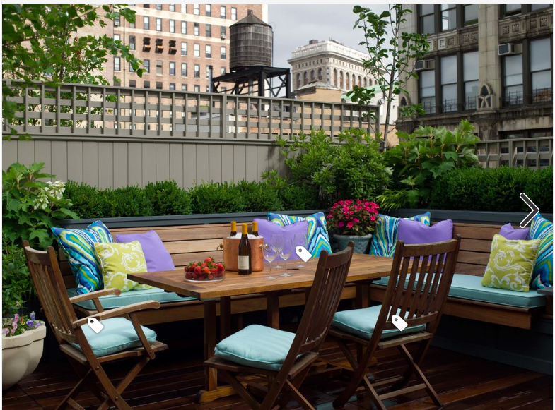 Outdoor Dining Banquette Patio Outdoor Seating Areas Rooftop Patio