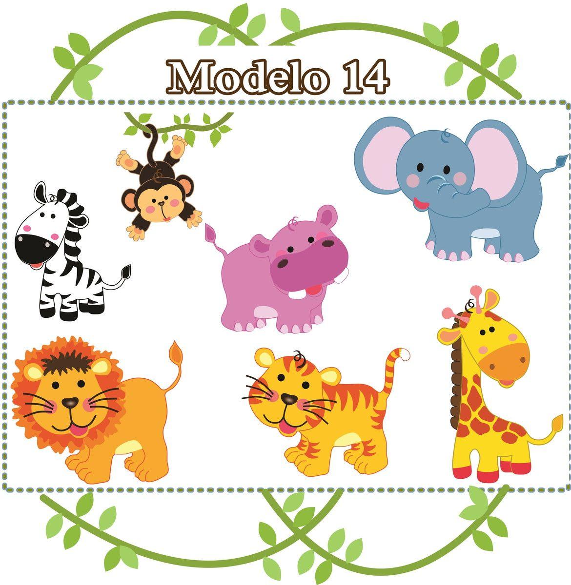 Adesivo Infantil Safari