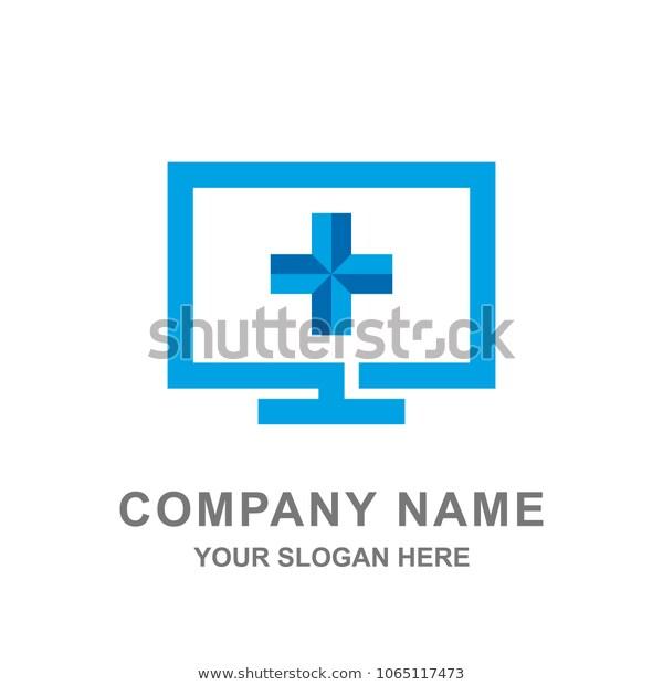 Blue Cross Medical Healthcare Logo Vector Stock Vector Royalty Free 1065117473 Healthcare Logo Vector Logo Medical
