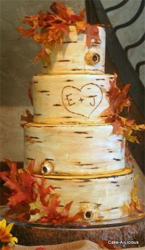 Lake-Inspired Wedding Cakes | Wedding cake | Pinterest | Wedding ...