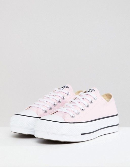 a4f77d66121a Converse Chuck Taylor All Star Platform Sneakers In Pink