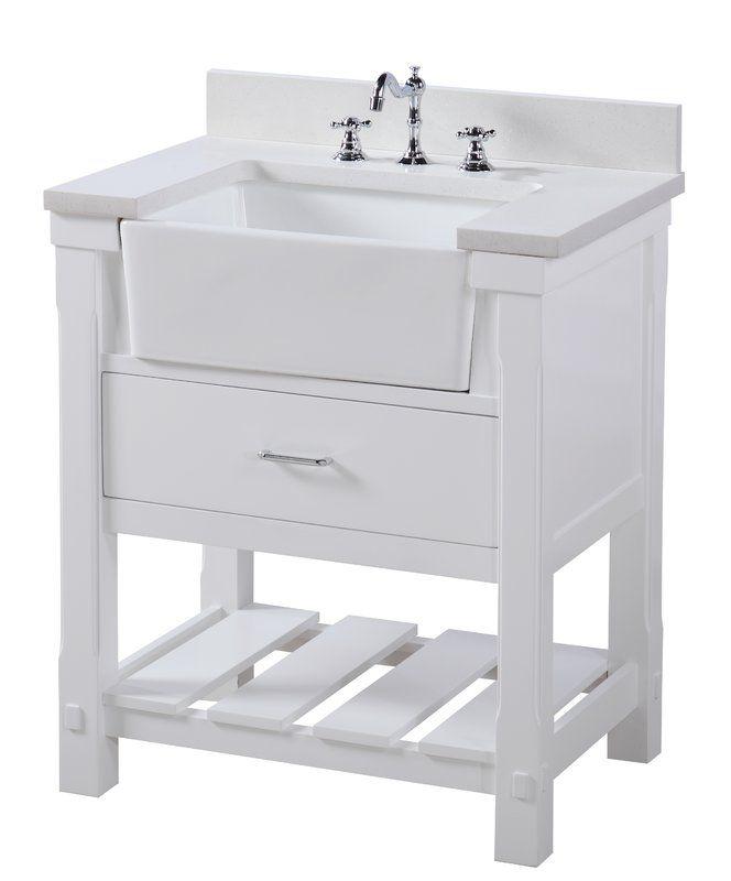 Charlotte 30 Single Bathroom Vanity Set Farmhouse Vanity Farmhouse Bathroom Vanity 30 Inch Bathroom Vanity
