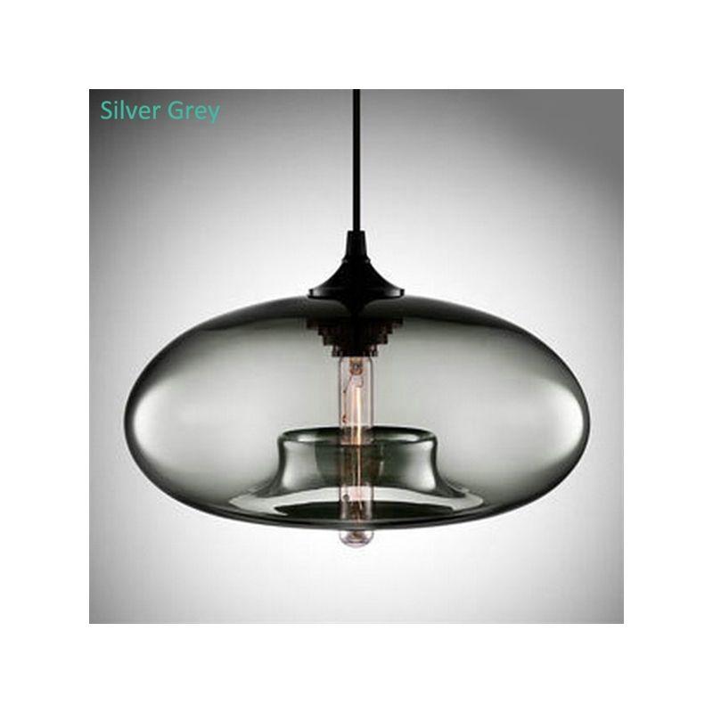 Lustre en verre moderne décoratif suspension en conception de ...