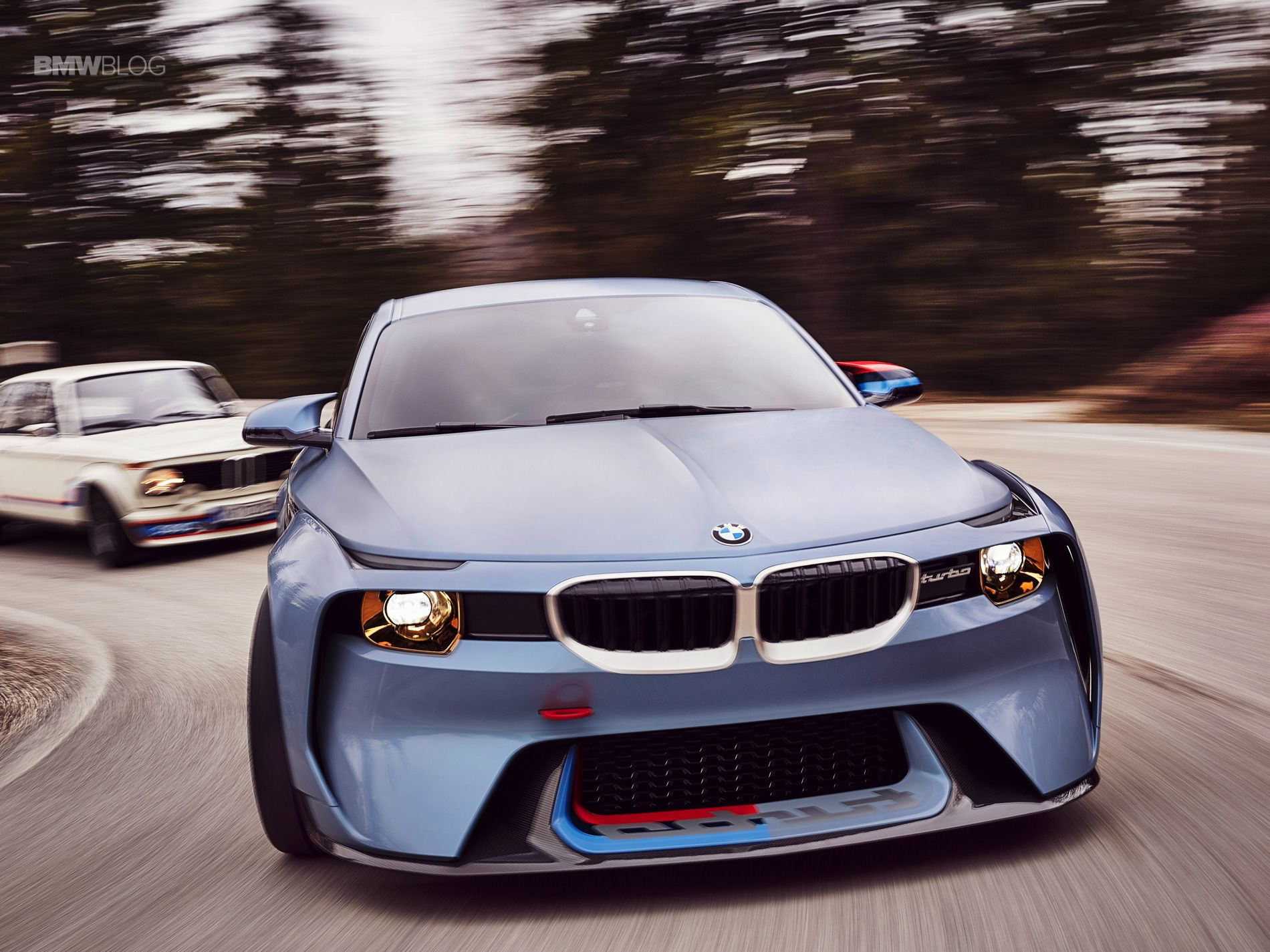 The World Premiere Of The Bmw 2002 Hommage A Beautiful Design