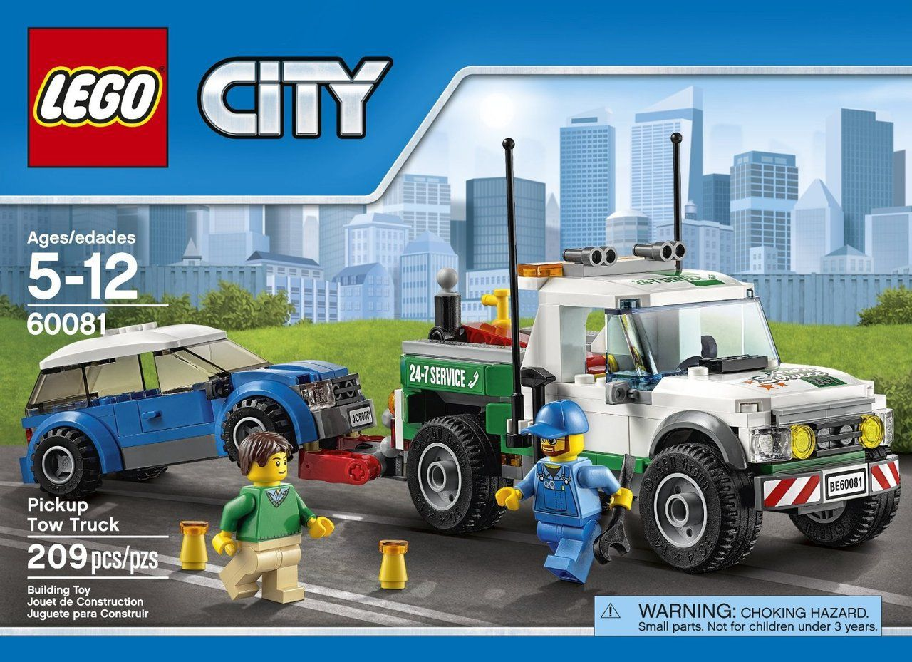 Lego City Pickup Tow Truck 60081 Lego City Trucks Tow Truck
