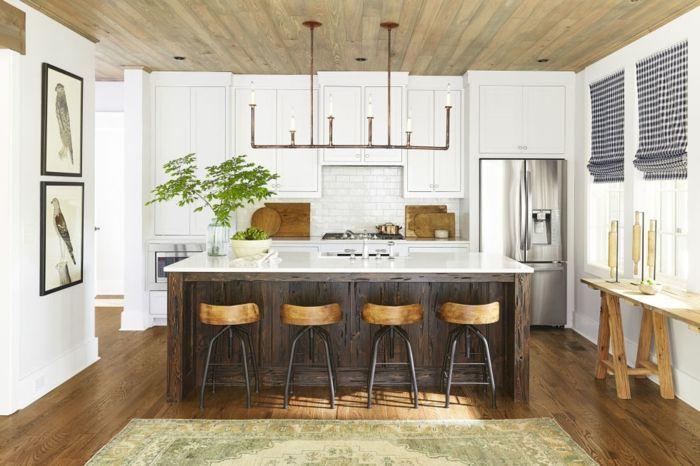 Imagenes de cocinas modernas ejemplo de estilo r stico for Paredes decoradas rusticas