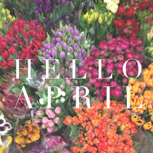 Hello + April