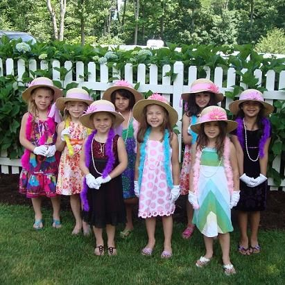 303f2178 if i ever have a little girl, a dress up tea party would be an awesome  birthday party!!!