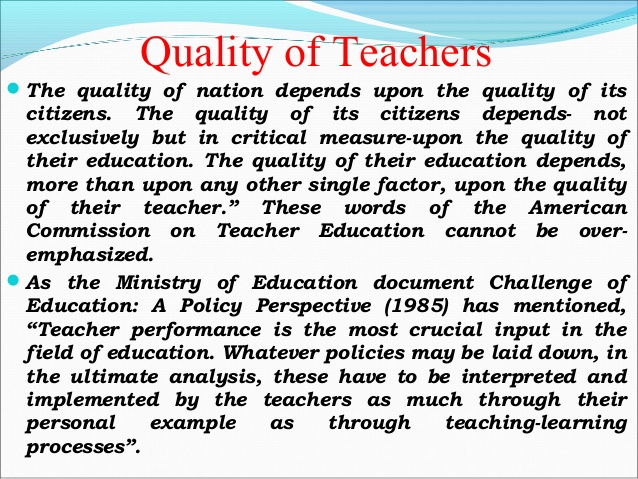 Qualitie Of A Good Teacher Pdf Google Search Essay Best About Quality