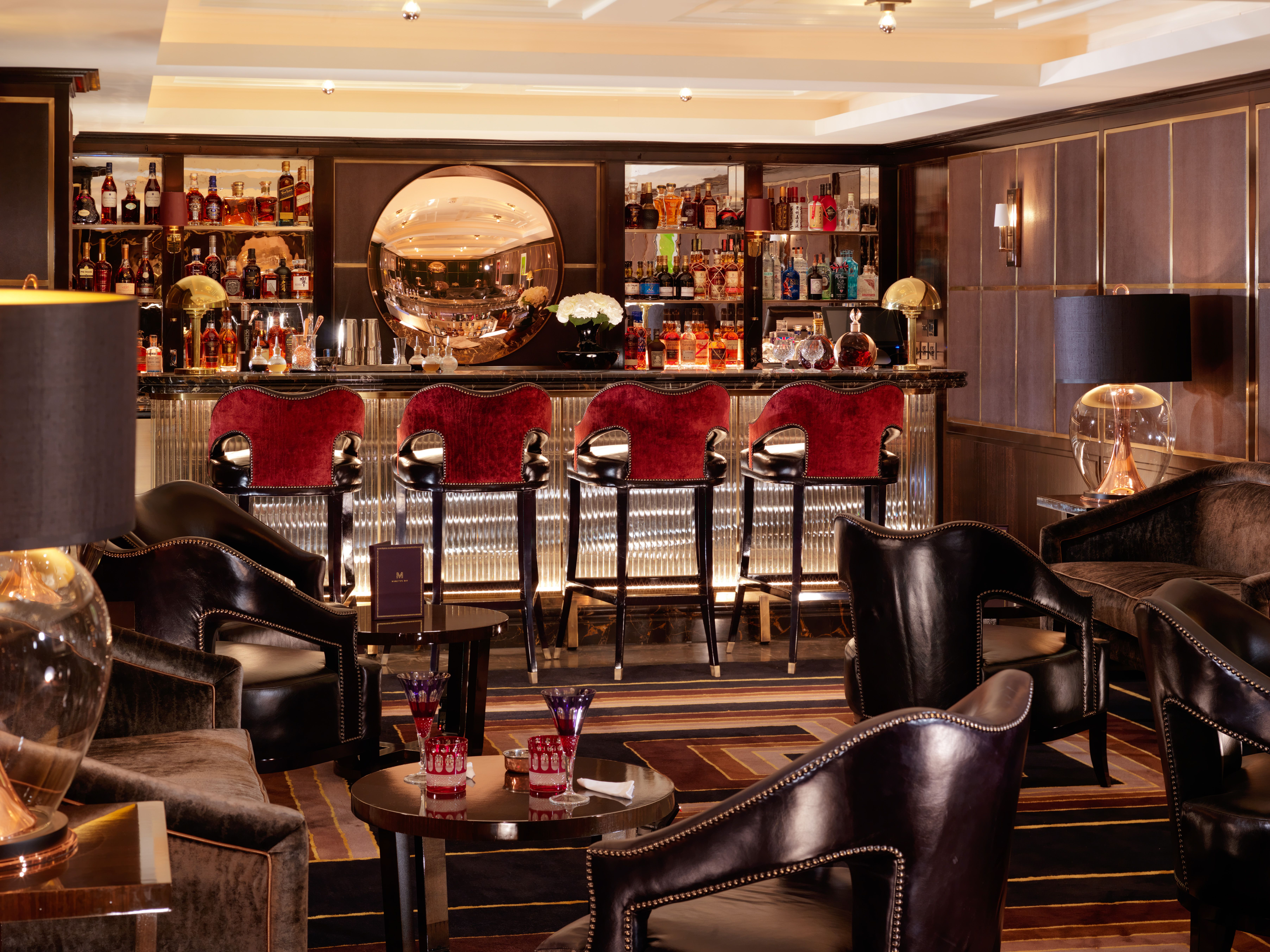 Manneta S Bar In Flemings Mayfair Hotel London Bars Cool Bars Small Luxury Hotels