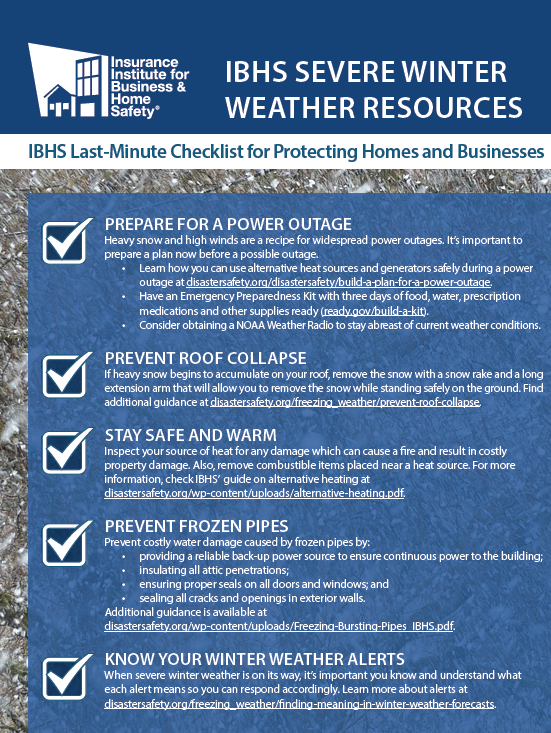 Last Minute Checklist To Protect Your Home And Business From The