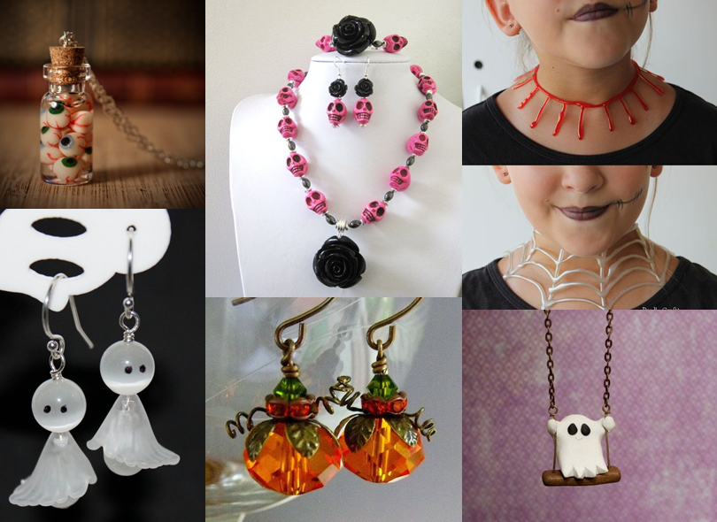 Halloween jewelry | Holiday Jewelry | Pinterest | Halloween ...