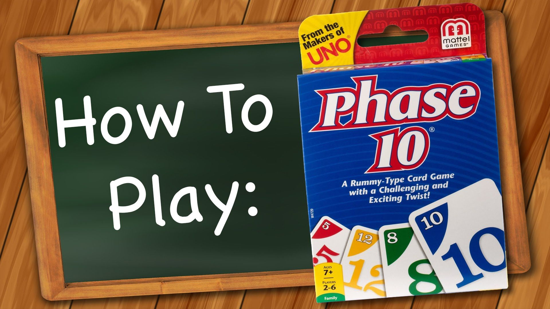How to play phase 10 youtube uno card game rules uno