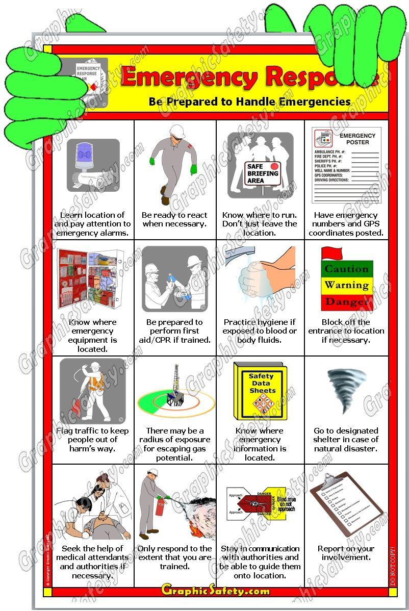 Emergencyresponse Jpg 802 1198 Safety Posters Bloodborne Pathogens Safety Training