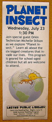 Planet Insect | by Lester Public Library