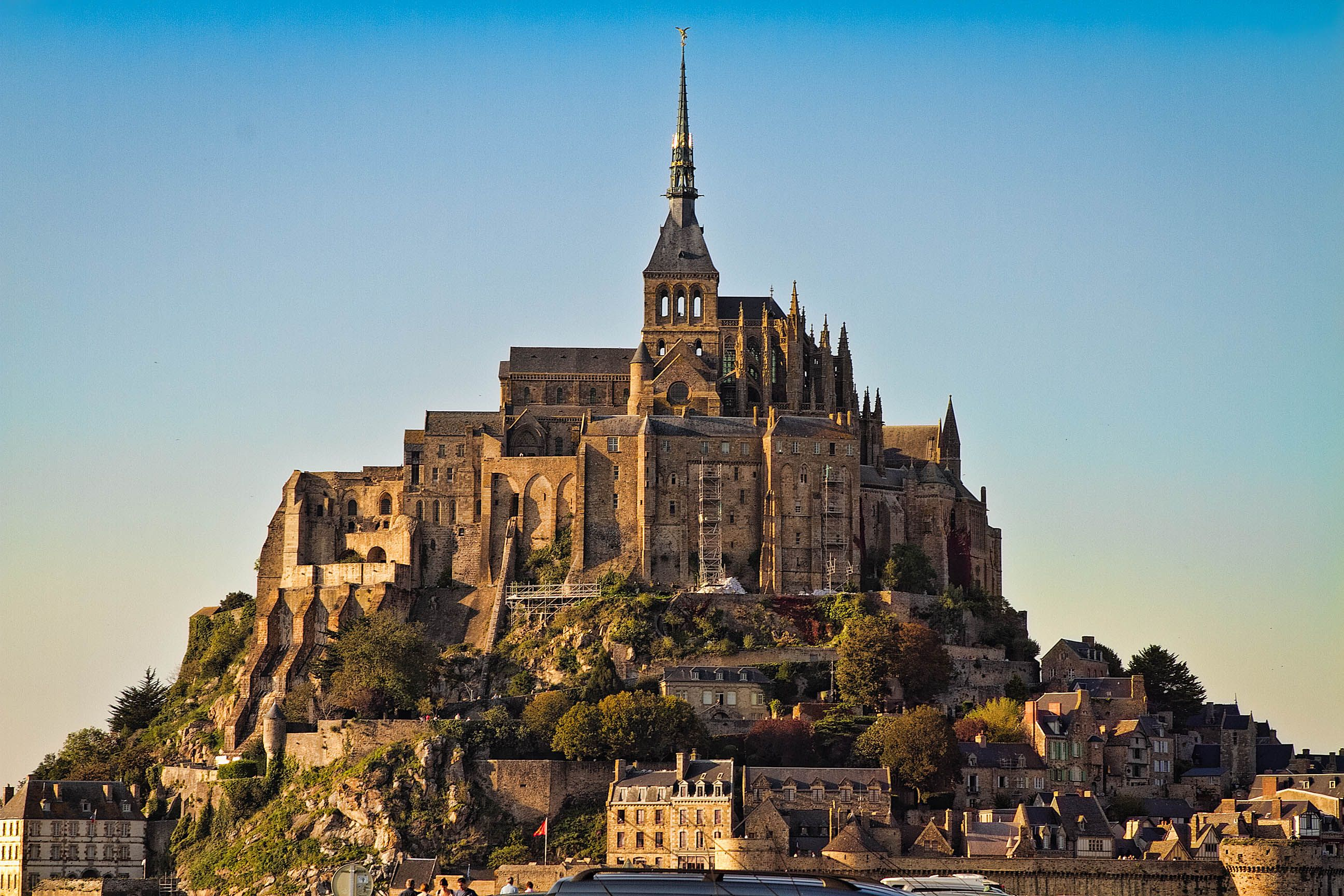From our trip last fall to France. Mont St Michel.