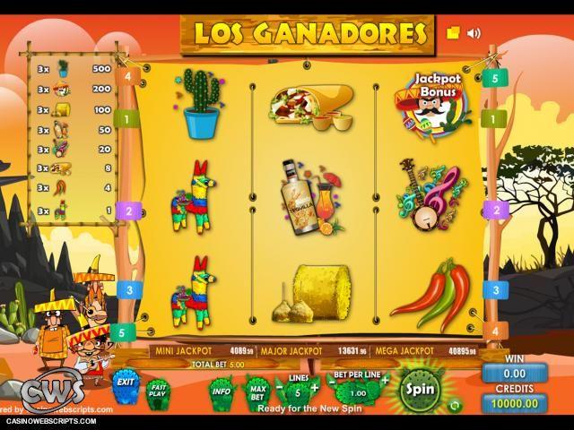 Spiele Los Ganadores - Video Slots Online