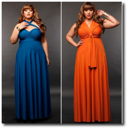 cutethickgirls.com plus size convertible dress (02) #plussizedresses ...