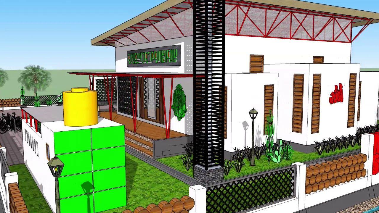 Desain Masjid Minimalis Arief Pm Desain Animasi 3d
