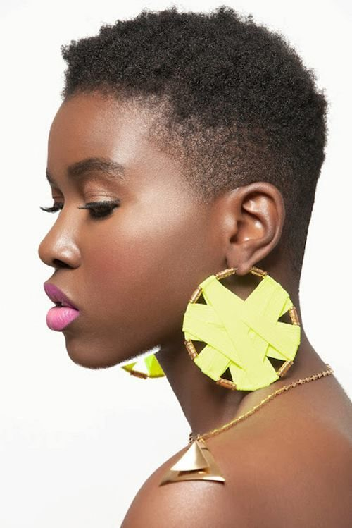 1000 Ideas About Short Natural Hairstyles On Pinterest Chop With Cut Hair
