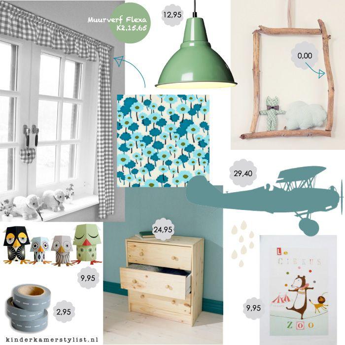 Kinderkamer goedkoop slaapkamers jongens pinterest kinderkamer kleuren en babykamer - Deco kamer kind gemengd ...