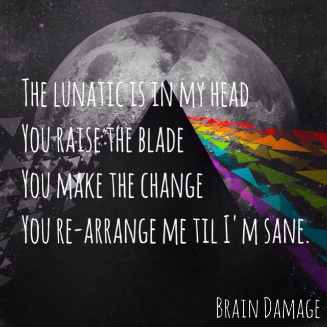 Pink Floyd - Brain Damage | Pink Floyd  | Pink floyd lyrics