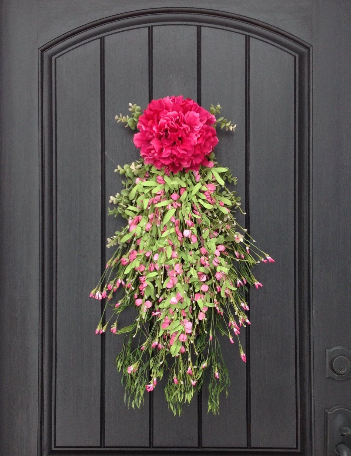 Great 15 Joyful Handmade Spring Wreath Ideas To Decorate Your Front Door