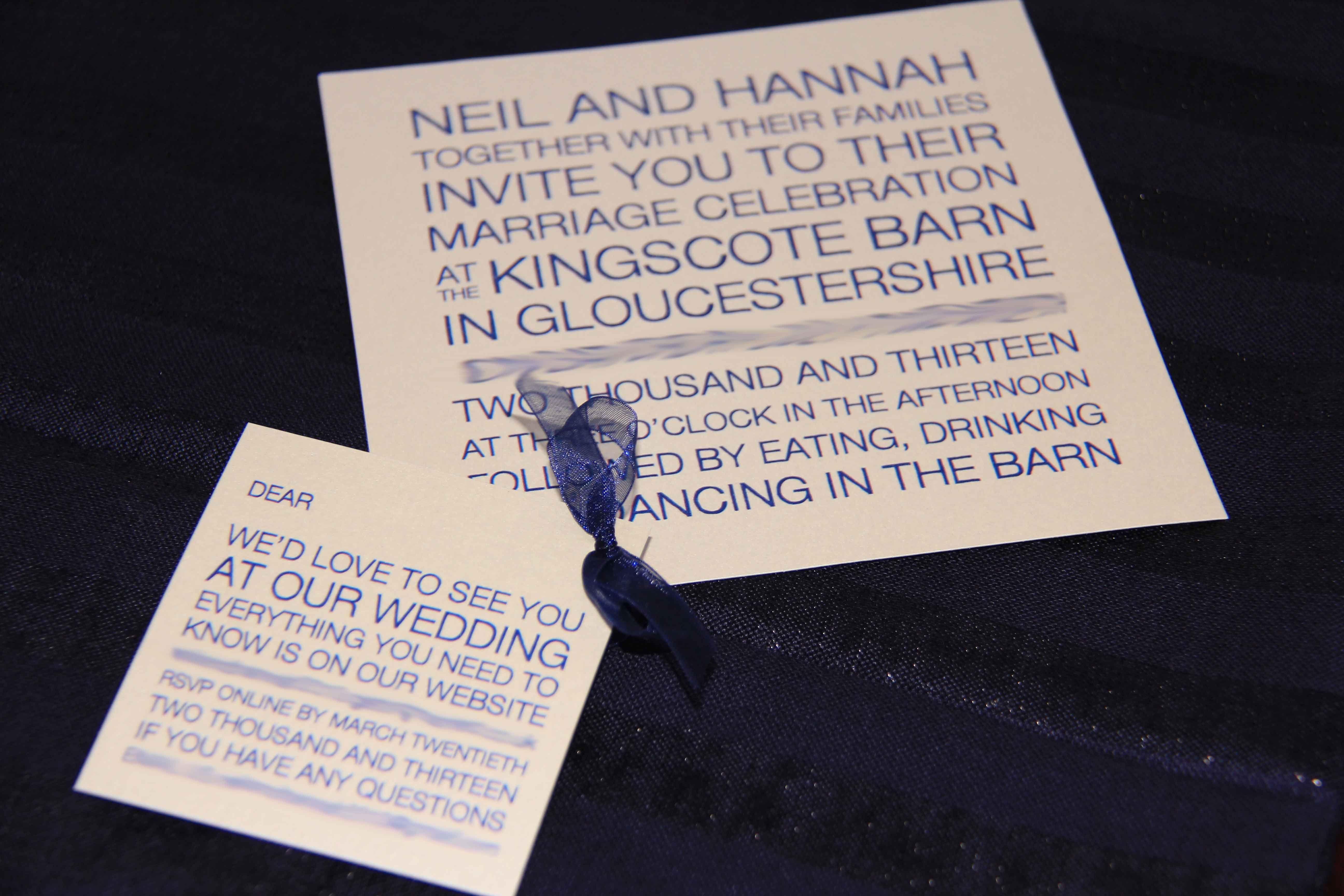 Wedding Invitation United Kingdom by Create my