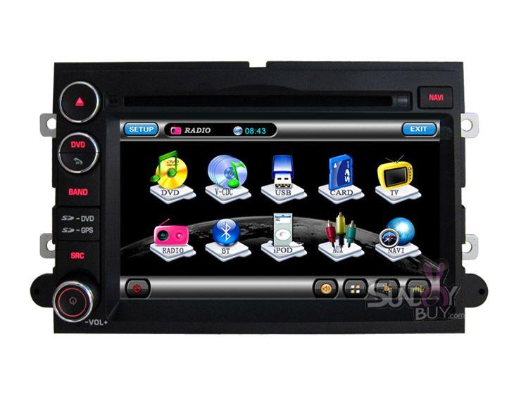 Winca Ford Mustang Dvd Player Model 8939 With Gps Navigation Radio Tv Bluetooth Gps Navigation System Car Dvd Players Gps Navigation