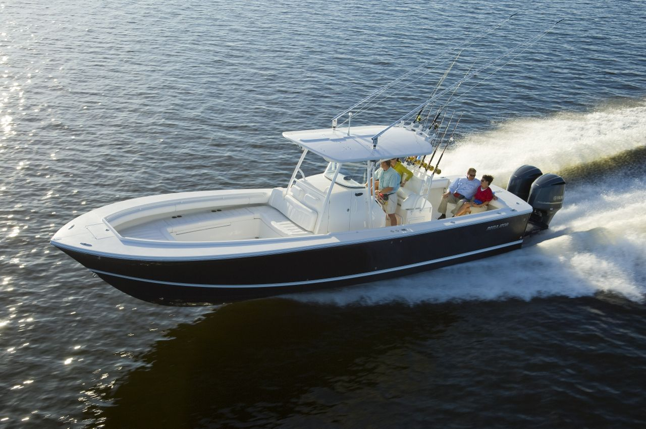 34 Regulator Center Console for sale by Kusler Yachts New