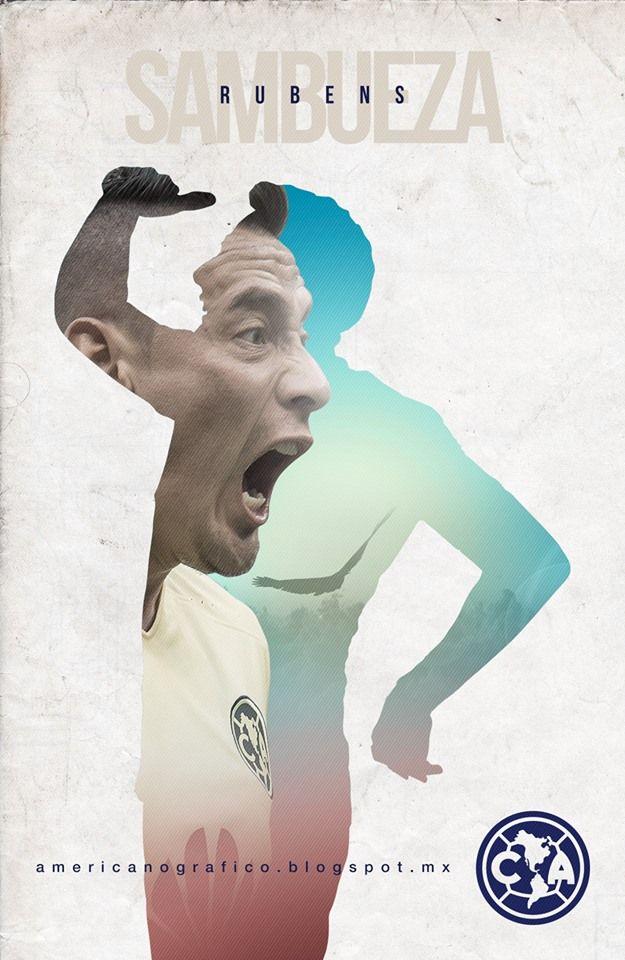 Rubens Sambueza #14 Club América