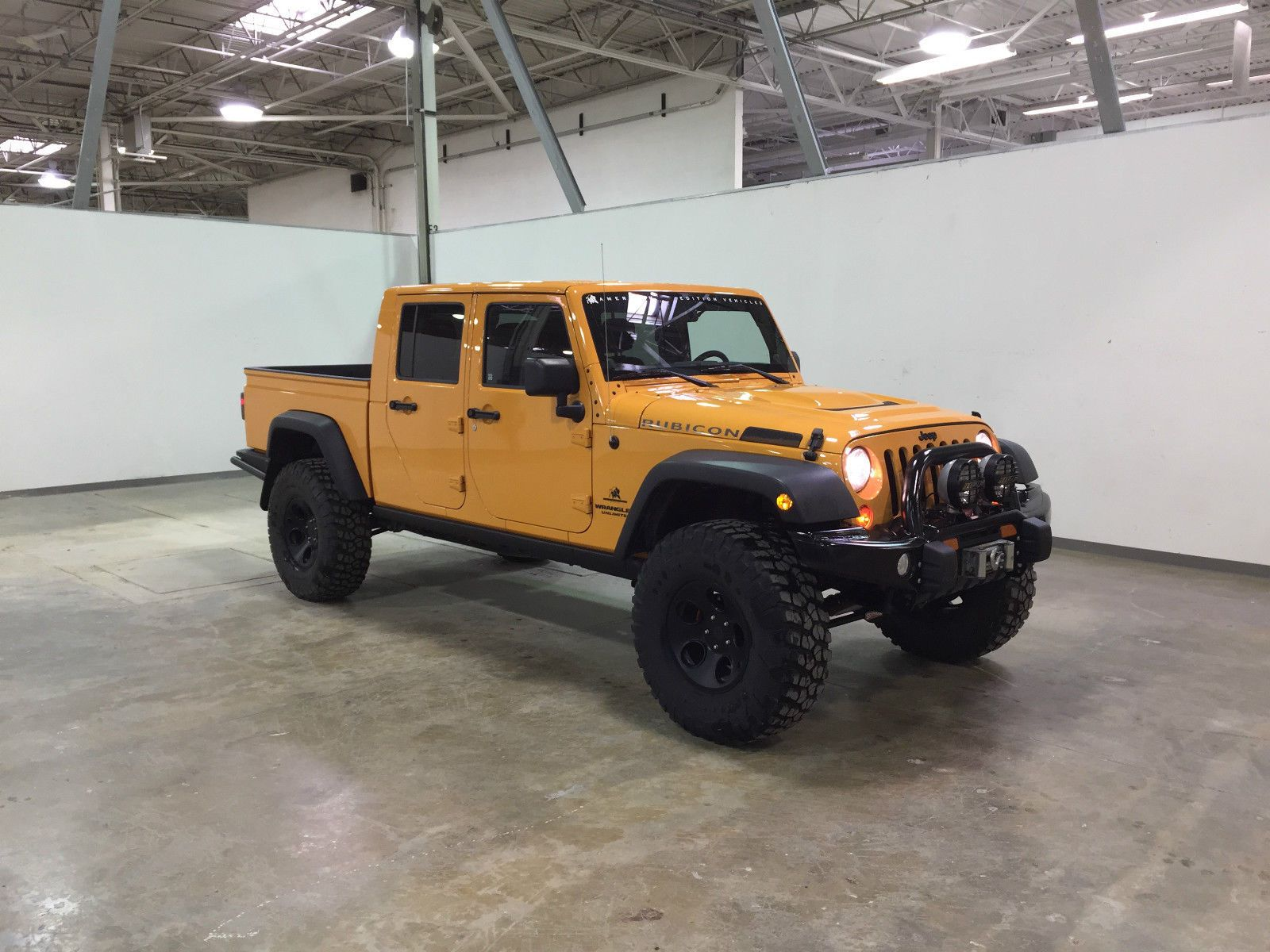 Jeep Wrangler Brute Double Cab Truck Dc350 Ebay Jeep Brute
